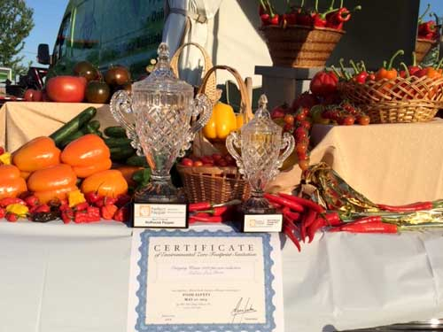 Nature Fresh Farms Wins Two Awards at the Perfect Pepper Competition