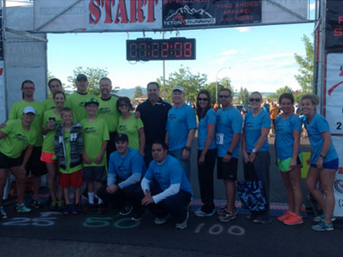 """Kingston Fresh's Team Was """"Running For A Cause"""""""