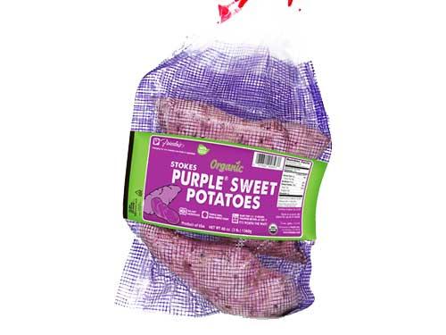 Frieda's Bringing Back Stokes Purple Sweet Potatoes