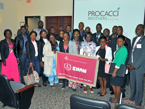 Procacci Brothers Host Cameroonian University Students For Tour of the Philadelphia Wholesale Produce Market
