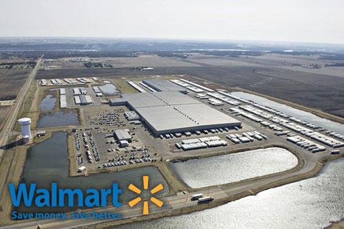 Wal-Mart Breaks Ground on Distribution Center in Target's ...